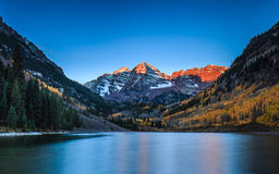 Free Maroon Bells Royalty Free Stock Images - 27177069