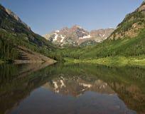 Free Maroon Bells And Maroon Lake Royalty Free Stock Photo - 14597955