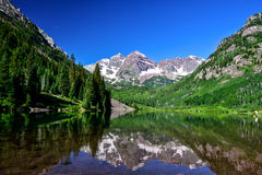 Maroon Bells, Aspen, Colorado Royalty Free Stock Image