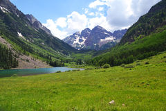 Maroon Bells. In Aspen, Colorado royalty free stock photography