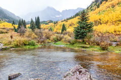 Maroon Bells Autumn Royalty Free Stock Images