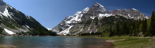 Maroon Bells, Colorado Royalty Free Stock Photos