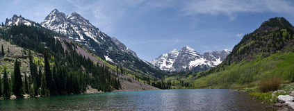 Maroon Bells, Colorado Stock Photos