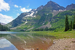 Maroon Bells, Colorado Stock Photo