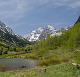 Maroon Bells, Colorado Stock Image