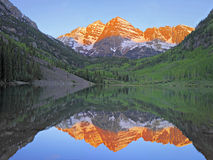Maroon Bells Dawn Stock Image