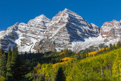 Maroon Bells Fall Royalty Free Stock Images
