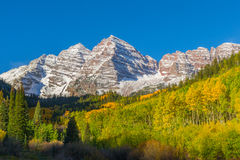 Maroon Bells Fall Landscape Royalty Free Stock Photo