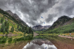 Maroon Bells Horizontal Royalty Free Stock Images