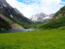 The Maroon Bells stock photos