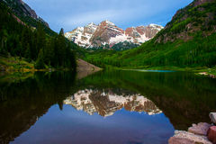 Maroon Bells Mountains Stock Photography