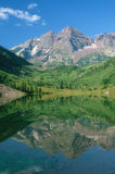 Maroon Bells Moutains, CO Stock Image