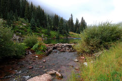 Maroon Bells. One of the most beautiful place of the world Stock Photography