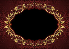 Maroon and black background Royalty Free Stock Photos