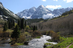 Maroon Creek Stock Photo