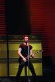 maroon för 5 adam konsertlevin Royaltyfri Bild