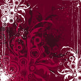 Maroon flowers background Stock Photo
