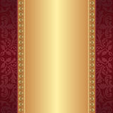 Maroon and gold background Stock Photo