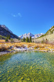Maroon Lake, Colorado mountain landscape, USA Stock Images