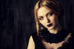 Maroon lipstick Stock Photo