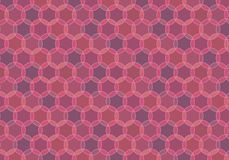 Maroon looped seamless pattern Stock Photography