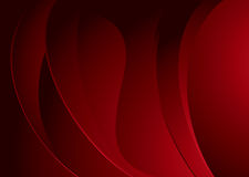 Maroon mellow swell. Abstract wave background with glowing red theme and copy space Royalty Free Stock Photography