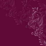 Maroon Pattern Stock Photo