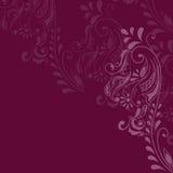 Maroon Pattern Stock Photo