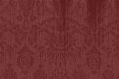 Maroon Textured Paisley Background Stock Photos