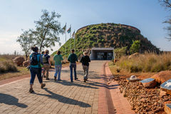 Maropeng Tumulus Entrance Stock Photo
