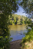 Maros River in Hungary Royalty Free Stock Image
