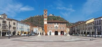 Marostica, Виченца, Италия Квадрат шахмат стоковое фото rf