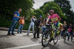 Marostica, Italia 24 maggio 2015; Alberto Contador przed ciężką sceną wycieczka turysyczna Włochy 2015 Obrazy Stock