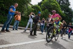 Marostica, Italia 24 maggio 2015; Alberto Contador przed ciężką sceną wycieczka turysyczna Włochy 2015 Zdjęcie Royalty Free