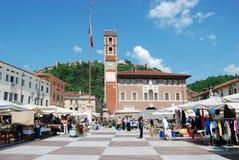 Marostica, Italien Stockfotos