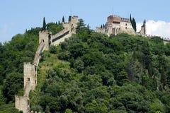Marostica. (Vi), Italy,the upper castle Stock Photo