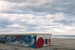 Marotta, el mosaico en la pared Imagen de archivo