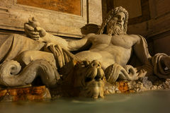 Marphurius fountain in Rome Royalty Free Stock Photos