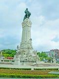 Marqués del monumento de Pombal en Lisboa Fotos de archivo libres de regalías