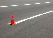 Marquage routier Photo stock