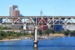 Marquam-Brücke, Portland Lizenzfreie Stockbilder