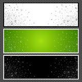 Marque avec des lettres la bannière horizontale - 02 Photographie stock libre de droits