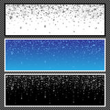Marque avec des lettres la bannière horizontale - 03 Images stock