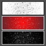 Marque avec des lettres la bannière horizontale - 01 Images stock