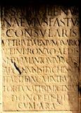 marque avec des lettres la texture romaine Image libre de droits
