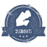 Marque de Djibouti Image stock