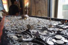 Marque de pied du Bouddha Photo stock