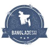 Marque du Bangladesh Image libre de droits