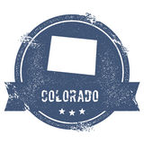 Marque du Colorado illustration libre de droits