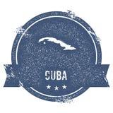 Marque du Cuba illustration stock